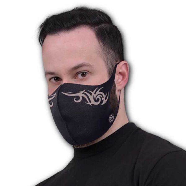 SPIRAL DIRECT Gothic Tribal Face Mask